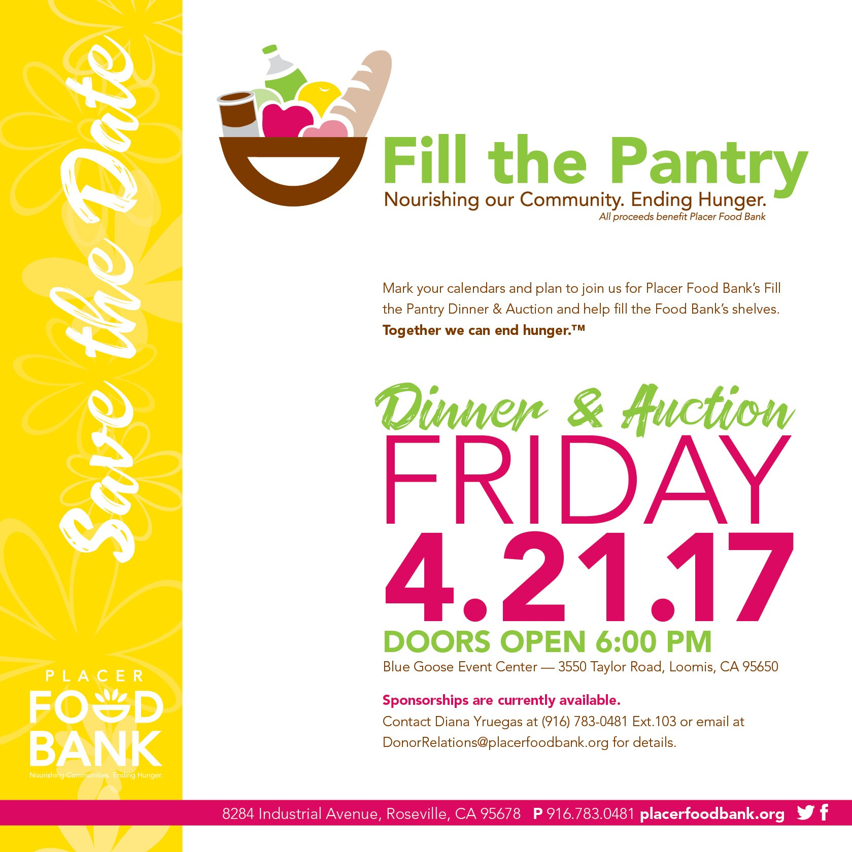 Fill the Pantry Dinner & Auction